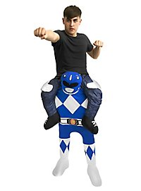 Carry Me costume blue Power Ranger