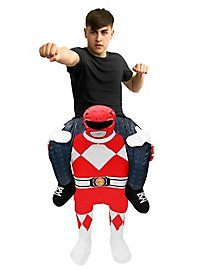 Carry Me costume red Power Ranger