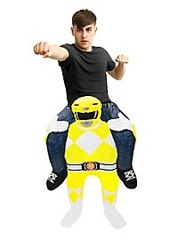 Carry Me costume yellow Power Ranger