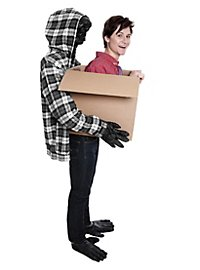 Carry Me Kostüm Affenkarton Faschingskostüm