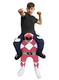 Carry Me Kostüm Pinkfarbener Power Ranger