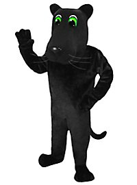 Cartoon Panther Mascot