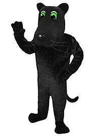 Cartoon Panther Mascot