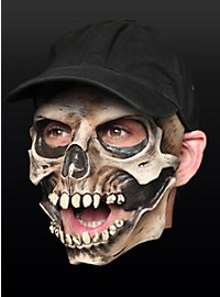 Casquette crâne Demi-masque en latex