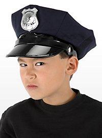 Casquette de police pour enfant