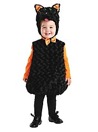 Cat child costume black