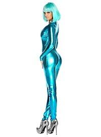 Cat Suit turquoise
