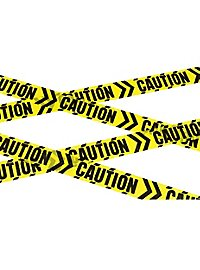 Caution barrier tape