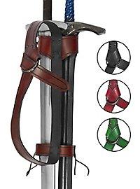 Ceinture arrière pour armes duale - Aventurier
