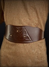 Ceinture de guerrier celte marron
