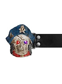 Ceinture LED mort-vivant pirate