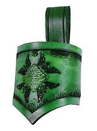 Sword frog - Celtic warrior, green