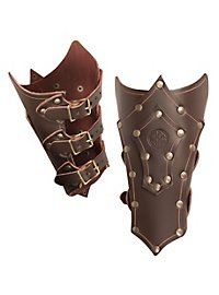 Celtic Warrior Vambraces brown