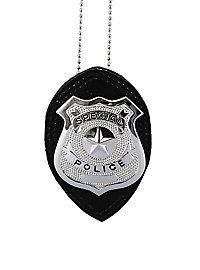 Chaîne avec insigne de police