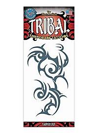 Chaos Tribal Klebe-Tattoo