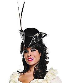 Chapeau burlesque mini tricorne