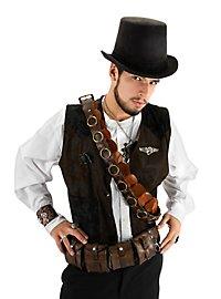 Chapeau de cocher steampunk