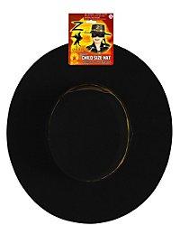 Chapeau de Zorro pour enfant