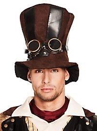Chapeau haut-de-forme de cocher steampunk