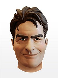 Charlie Sheen Latex Full Mask