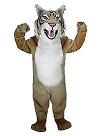 Chat sauvage marron Mascotte