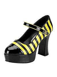 Chaussures compensées Abeille