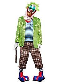 Chaussures de clown rouges et bleues
