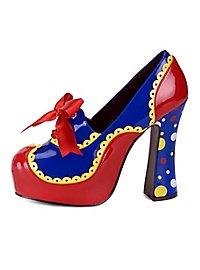 Chaussures de clownesse de cirque