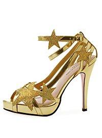Chaussures de fée dorées