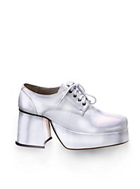 Chaussures des années 70 Homme blanches