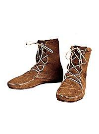 Chaussures médiévales marron