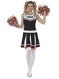 Cheerleader Kostüm schwarz