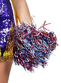 Cheerleader Pompom metallic