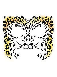 Cheetah Temporary Face Tattoo