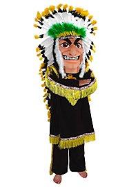 Chef de tribu Mascotte