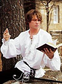 Chemise de poète blanche