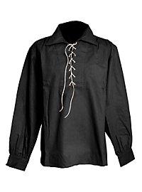 Chemise de western à cordon noire