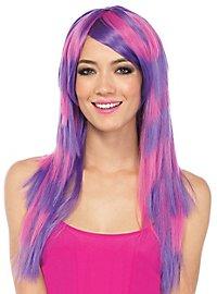 Cheshire Cat wig purple-pink