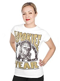 Chewbacca Girlie Shirt Wookie of the Year