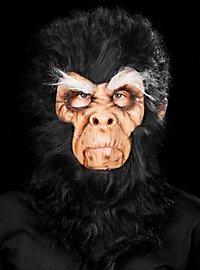 Chimpanzé féroce marron Masque en latex