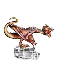 Chinese Fireball Dragon Statuette