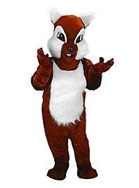 Chip l'écureuil Mascotte