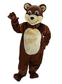 Chocolate Bear Mascot