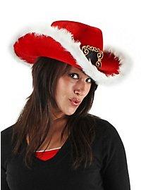 Christmas Cowboy Hat