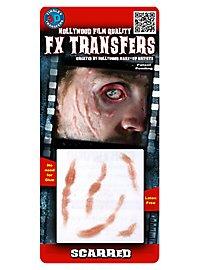 Cicatrices au visage 3D FX Transfers