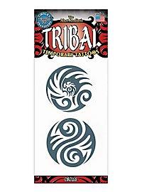Circles Tribal Temporary Tattoo