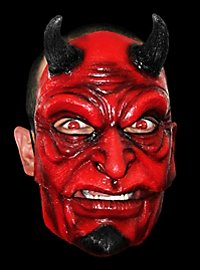 Classic Devil Latex Mask with moving mouth