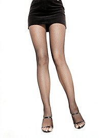 Classic fishnet tights black
