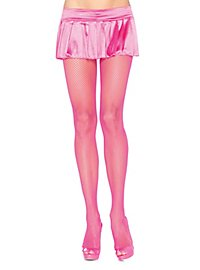 Classic fishnet tights neonpink