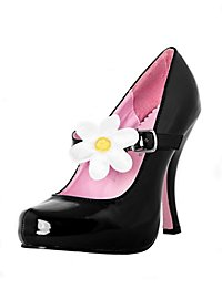 Classic Platform Shoes with Daisy
